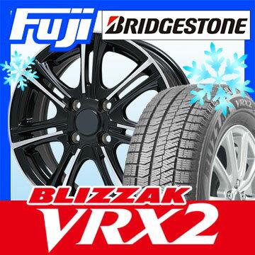 【送料無料】 BRIDGESTONE ブリヂストン ブリザック VRX2 165/70R14 14インチ スタッドレスタイヤ ホイール4本セット BRANDLE ブランドル M68BP 5.5J 5.50-14