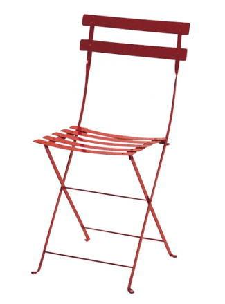 【ガーデンチェア】ビストロメタルフォールディングチェア◆送料・代引き手数料無料の椅子
