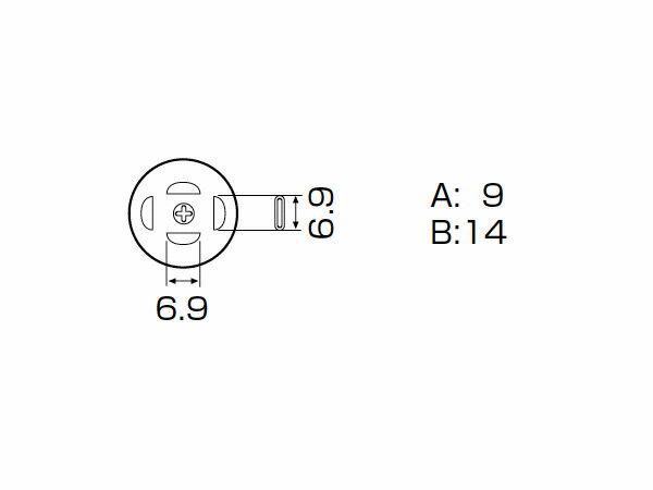 白光(HAKKO) SMCリワーク ノズル PLCC 12.5mm×7.3mm (18ピン) SMCリワーク A1139B