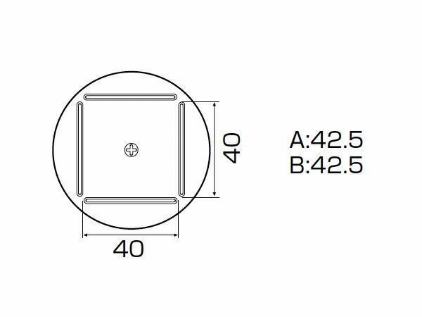 白光(HAKKO) SMCリワーク ノズル QFP 42.5mm×42.5mm ++ A1215B