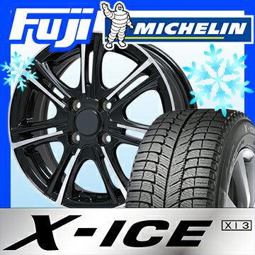【送料無料】 MICHELIN ミシュラン X-ICE XI3 175/65R15 15インチ スタッドレスタイヤ ホイール4本セット BRANDLE ブランドル M68BP 5.5J 5.50-15