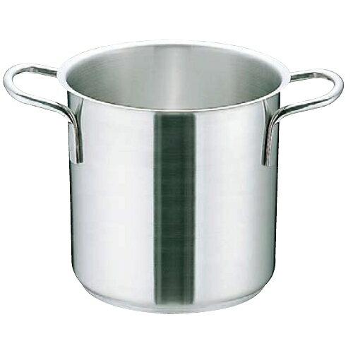 Murano(ムラノ) インダクション18-8寸胴鍋(蓋無)50cm 〈AZV-77〉