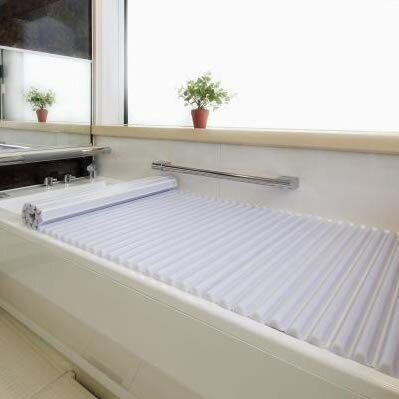 イージーウェーブ風呂フタ 90×130cm用 ホワイト