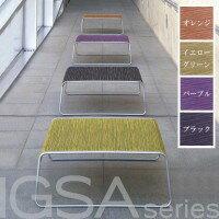 【送料無料】IGSA series (いぐさシリーズ) Low Table (ローテーブル) W800×D800×H300 パープル【代引不可】