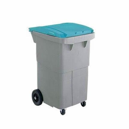 【送料無料】三甲 サンコー サンクリーンボックス SCB-Pシリーズ 4輪キャスター付き大型ごみ箱 SCB200P フタ:ブルー 620000-02【代引不可】