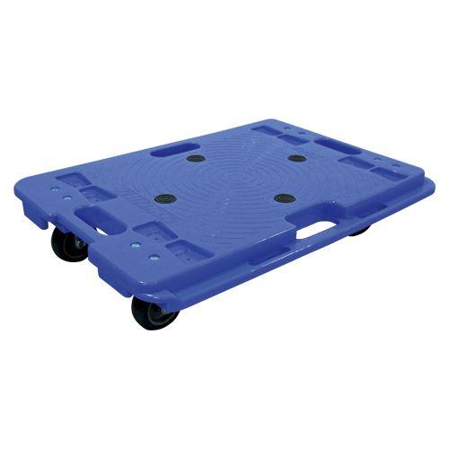【送料無料】(まとめ)ナンシン 樹脂縦横連結段積みドーリー PD406-3SE 00018745 〔まとめ買い×3セット〕