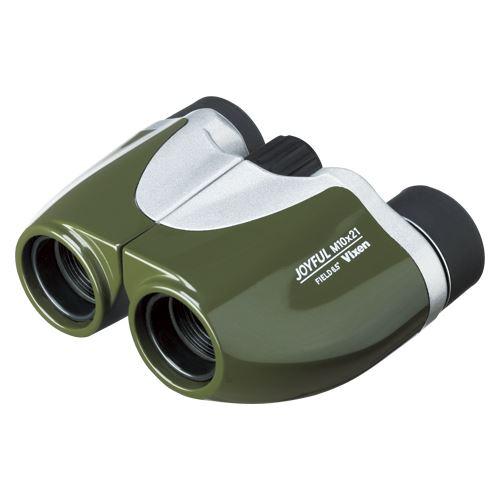 【送料無料】(まとめ)ビクセン 双眼鏡ジョイフルM10X21オリーブGR JOYFUL M10X21 00018105 〔まとめ買い×3セット〕