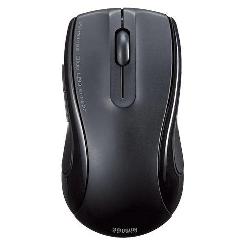 【送料無料】(まとめ)サンワサプライ 充電式ワイヤレスブルーLEDマウス MA-WBL20BK(488) 00016634 〔まとめ買い×3セット〕