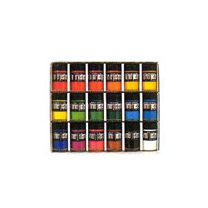 【送料無料】(まとめ)ターナー色彩 ポスターカラー40ml 18色セット ビンイリ18ショクセット 00007126 〔まとめ買い×3セット〕