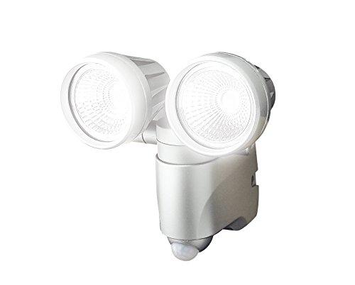 高儀 EARTH MAN LEDセンサーライト ダブル 6W×2 SLT-6LWB【代引不可】