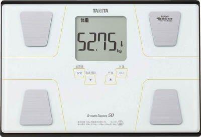 【送料無料】〔ギフト〕TANITA 体組成計 インナースキャン50 BC‐320‐WH BC-320-WH【代引不可】