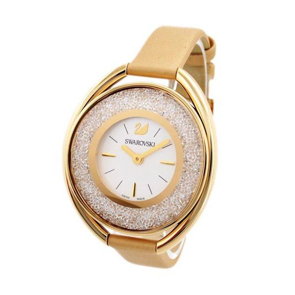 SWAROVSKI(スワロフスキー) 5158972 レディース 腕時計 Crystalline Oval (クリスタルライン・オーバル)【代引不可】【代引不可】