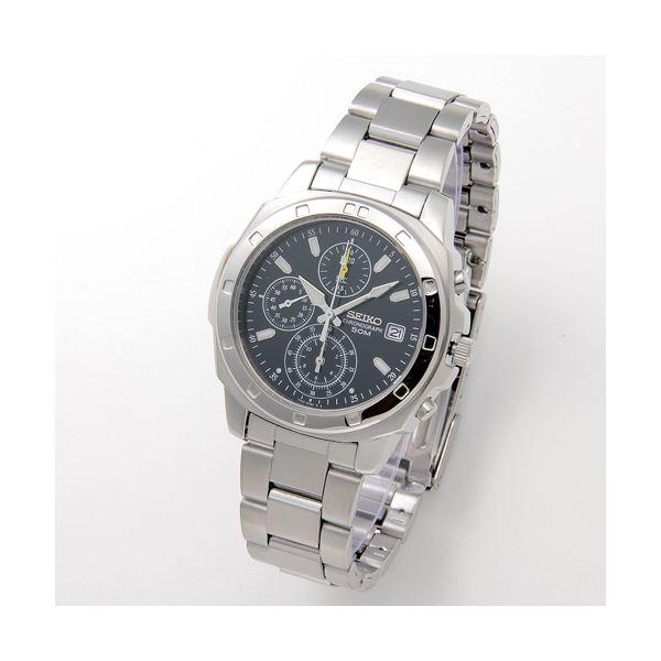 【送料無料】SEIKO(セイコー) 腕時計 クロノグラフ SND411 グリーン【代引不可】