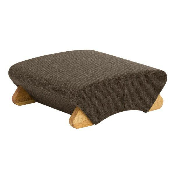 【送料無料】デザイン座椅子 脚:クリア/布:グレー 〔Mona.Dee モナディー〕WAS-F【代引不可】