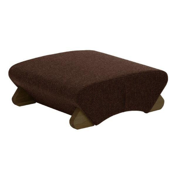 【送料無料】デザイン座椅子 脚:ダーク/布:ダークブラウン 〔Mona.Dee モナディー〕WAS-F【代引不可】