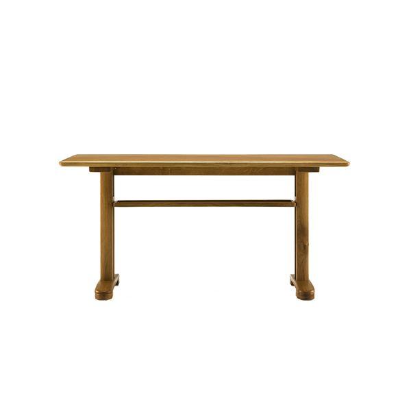 【送料無料】ボスコプラス クローネLDテーブル 130cm ライトブラウン DT84404Q-PL800【代引不可】