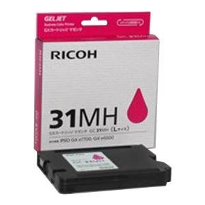 【送料無料】(業務用5セット) RICOH(リコー) GXカートリッジ GC31MH マゼンタ【代引不可】