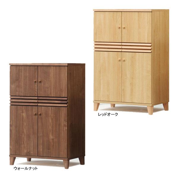 【送料無料】フリーボード キャビネット 飾り棚 収納「ミント」 80cm幅 2色対応