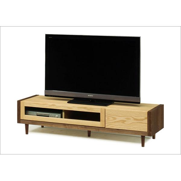 【送料無料】TVボード テレビボード ロータイプ「ニコル」 153cm幅