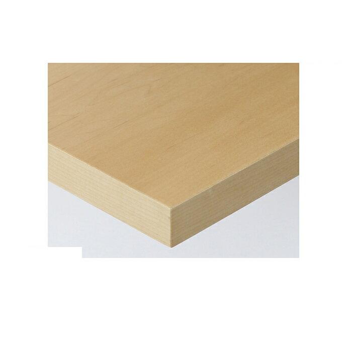 【 テーブル天板のみ 】テーブル天板 天然木 メープル板目突板 共巻仕上げ T-0050 W600×D600×t30 【 テーブル天板 パーツ 机 DIY 】