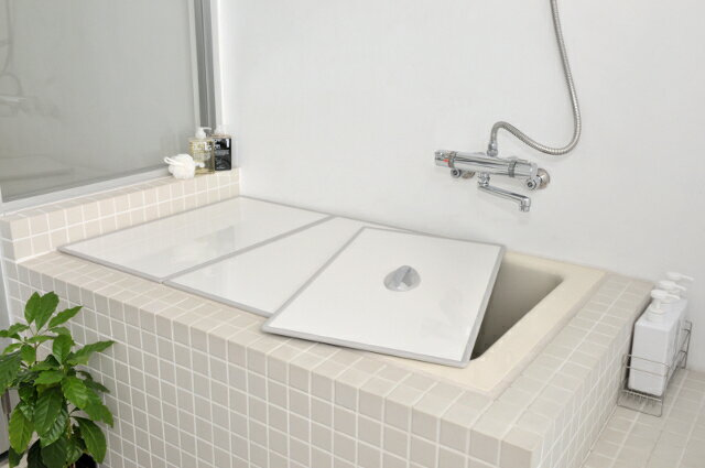 【風呂ふた送料無料】東プレ Ag取手付きアルミ組み合わせ風呂ふた  L15  73×148cm 3枚割_10P03Sep16