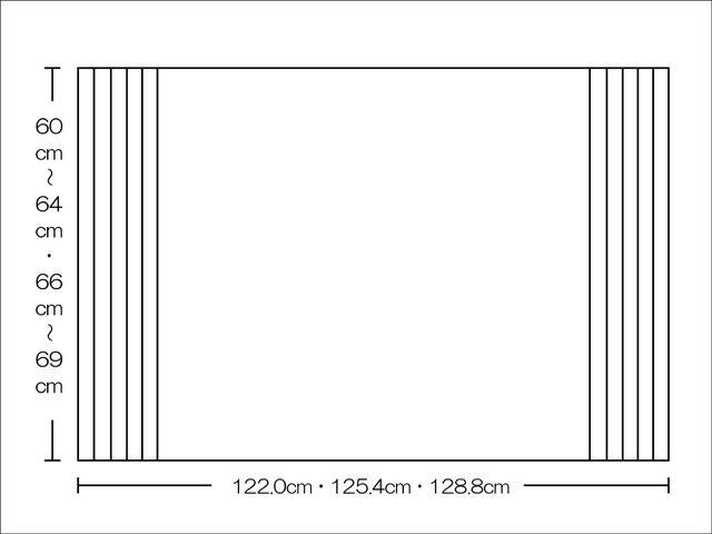 【風呂ふた送料無料】東プレ くるくる巻ける巻きふた オーダーシャッターふた60~64,66~69×122.0・125.4・128.8cm_10P03Dec16