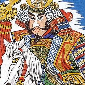 黄金武者絵幟:太閤虎付:巾90cm×長さ6m