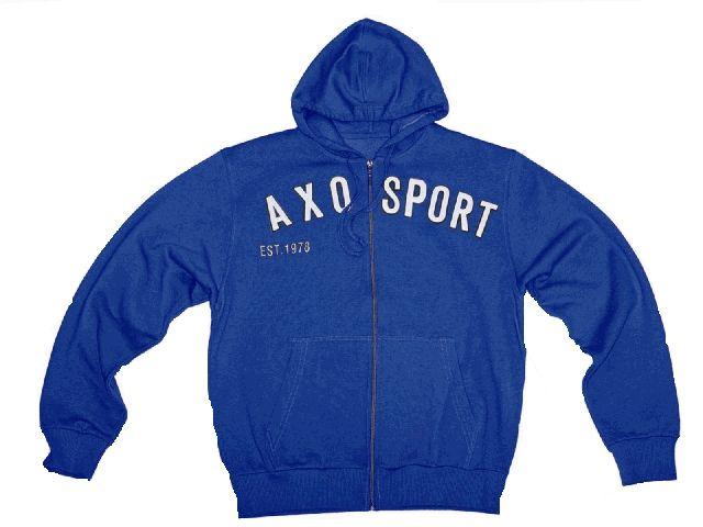 【送料無料】AXO パーカー「EST 78」 カラー:ブルー サイズ:S