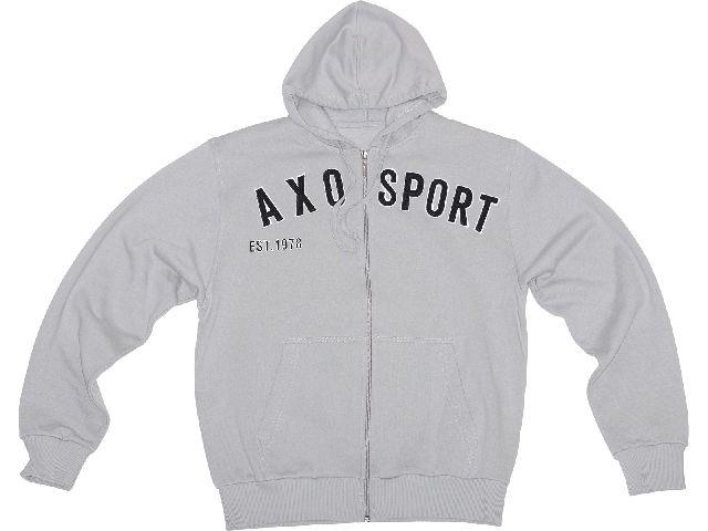 【送料無料】AXO パーカー「EST 78」 カラー:グレー サイズ:XS