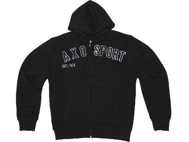 【送料無料】AXO パーカー「EST 78」 カラー:ブラック サイズ:2XL