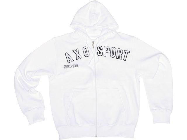 【送料無料】AXO パーカー「EST 78」 カラー:ホワイト サイズ:L