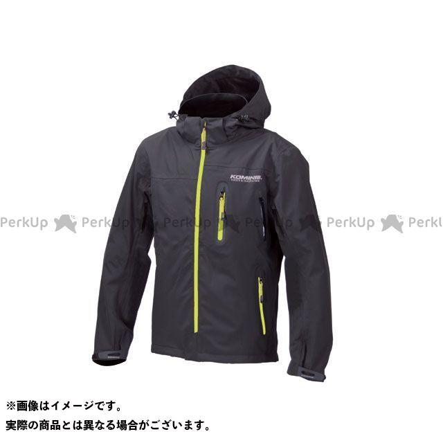 送料無料 コミネ KOMINE カジュアルウェア JK-555 WPプロテクション3L-パーカ レディース ブラック/ネオン L