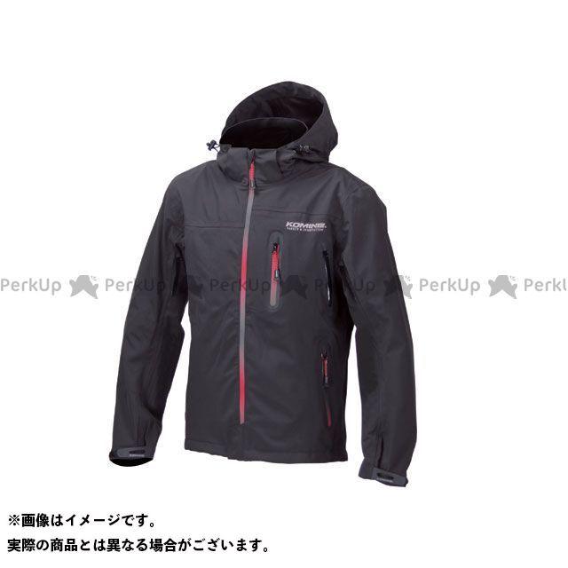 送料無料 コミネ KOMINE カジュアルウェア JK-555 WPプロテクション3L-パーカ レディース ブラック/グラデーションレッド M