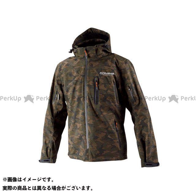 送料無料 コミネ KOMINE カジュアルウェア JK-555 WPプロテクション3L-パーカ レディース(カモフラージュ) WS
