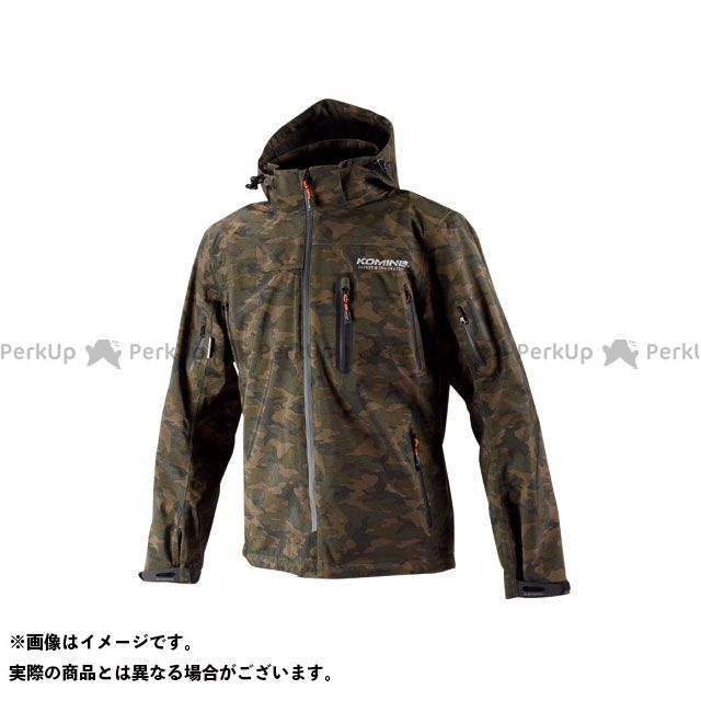 送料無料 コミネ KOMINE カジュアルウェア JK-555 WPプロテクション3L-パーカ レディース(カモフラージュ) WL
