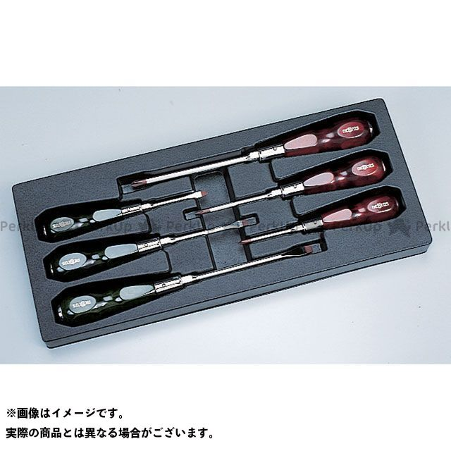 【送料無料】nepros NTD306 ネプロス・木柄ドライバセット