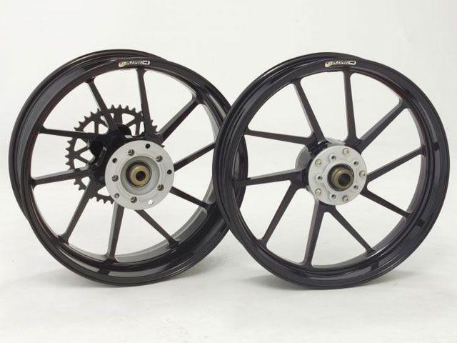 【送料無料】GALESPEED TYPE-R フロント(350-17) カラー:ブラックメタリック ZEPHYR 1100