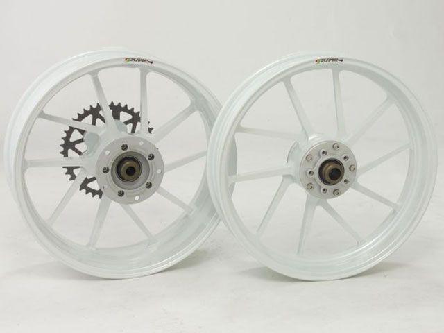 【送料無料】GALESPEED TYPE-R フロント(350-17) クォーツ仕様 カラー:パールホワイト Ninja ZX-10R