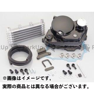 【送料無料】KITACO ウルトラクラッチカバー&オイルクーラーキット(ブラック) Ape100 Ape50