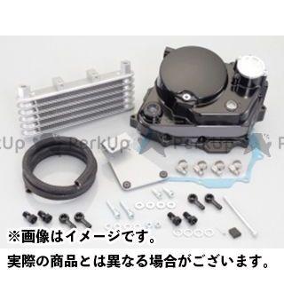 【送料無料】KITACO ウルトラクラッチカバー&オイルクーラーキット(ブラック) NSF100