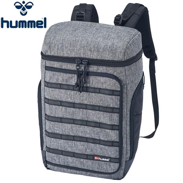 ヒュンメル BXバックパック メンズ ブラックヘザー リュックサック バッグ HFB6066 hummel 17SS 2017年春夏