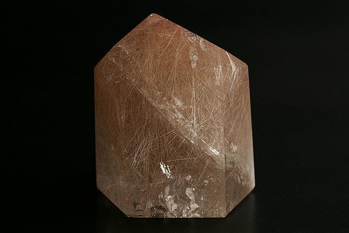 ルチル水晶ポイント ブラジル産