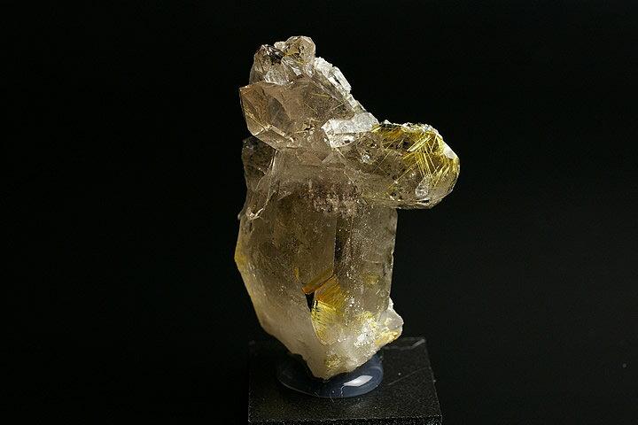 高級品ルチル水晶クラスター