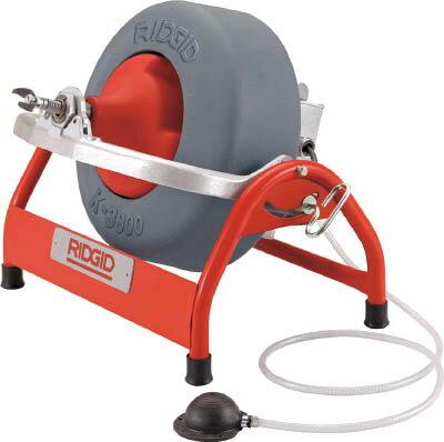 [排水管掃除機(電動タイプ)]【送料無料】Ridge Tool Compan RIDGE ドレンクリーナー K‐3800 53107 1台【北海道・沖縄送料別途】【smtb-KD】【495-1336】
