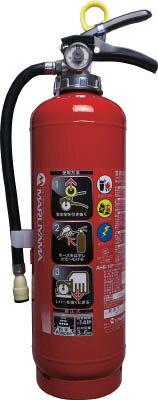 [蓄圧式粉末消火器]マルヤマエクセル(株) マルヤマ 蓄圧式ABC粉末3.0Kg AHB-10P 1本【769-7716】