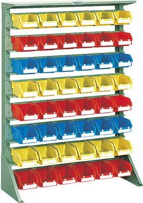 [コンテナラック]【送料無料】トラスコ中山(株) TRUSCO 重量コンテナラック H1265 T2X48 U-1208 1台【507-9292】【北海道・沖縄送料別途】【smtb-KD】
