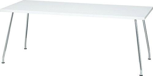 PLUS プラス リラックステーブル RT-2000 テーブル ミーティングテーブル 会議テーブル 机 長方形型 食堂 学食 社食 飲食店 店舗 フリースペース 休憩室 オフィス ミーティングルーム 会議室 打ち合わせ 幅 1800mm 180cm ネオホワイト 白 RT-2188
