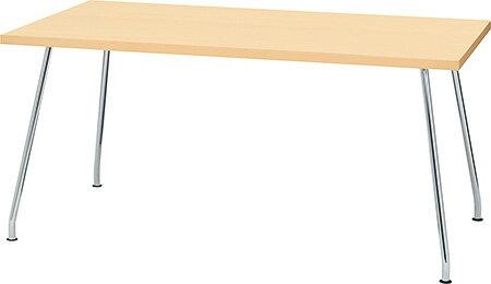 PLUS プラス リラックステーブル RT-2000 テーブル ミーティングテーブル 会議テーブル 机 長方形型 食堂 学食 社食 飲食店 店舗 フリースペース 休憩室 オフィス ミーティングルーム 会議室 打ち合わせ 幅 1500mm 150cm ナチュラル RT-2158