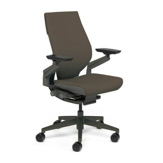 Steelcase スチールケース Gesture ジェスチャー チェア ワークチェア オフィスチェア パソコンチェア PCチェア 事務椅子 事務チェア 学習椅子 フィット 長時間 作業 疲れにくい 腰 サポート ラップバック 黒 ブラック ルートビア K-442A40BB