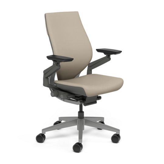 Steelcase スチールケース Gesture ジェスチャー チェア ワークチェア オフィスチェア パソコンチェア PCチェア 事務椅子 事務チェア 学習椅子 フィット 長時間 作業 疲れにくい 腰 サポート ラップバック ダーク モルト ベージュ K-442A40DD